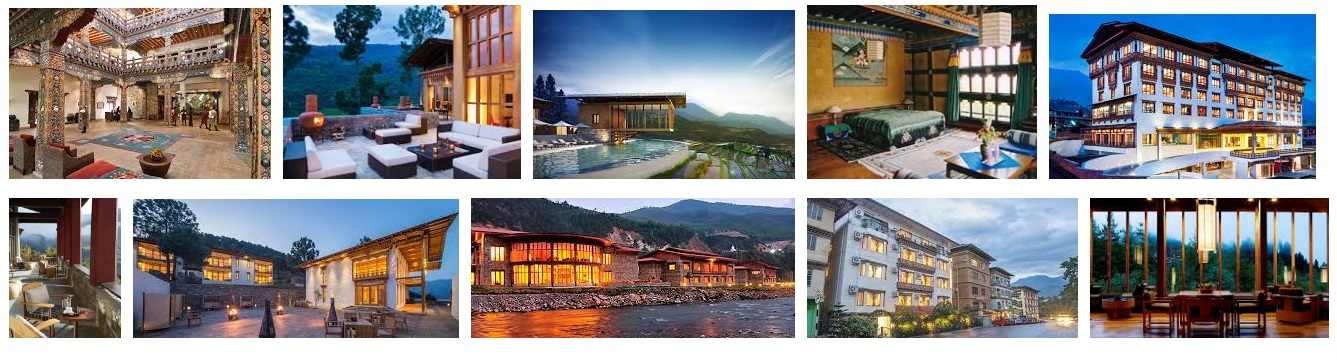 Hotels and resorts in Bhutan