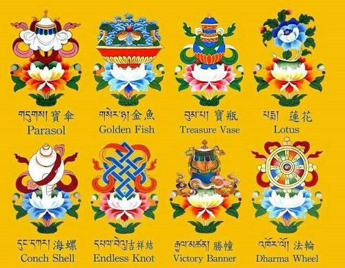 Tashi Tagye Eight Auspicious Signs